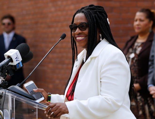 Rep. Marcia Ranglin-Vassell championed the doula bill for three years. On Wednesday she celebrated it becoming law.