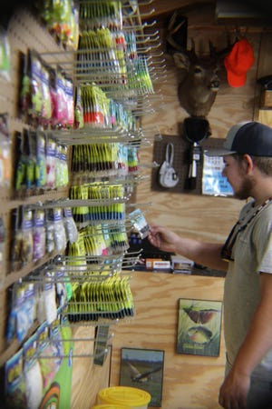 Ray Tudor began LeadCo Sinker and Lure Company due to local requests for sinkers and other fishing paraphernalia.