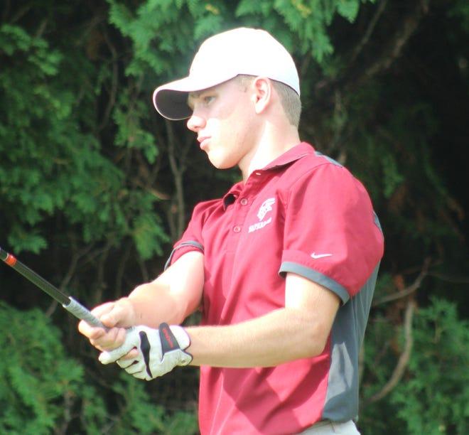 Waterloo senior Luke Simons shot a 77 at the Karpis Invitational on Tuesday.