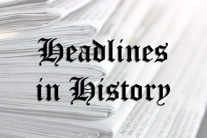 Headlines in History