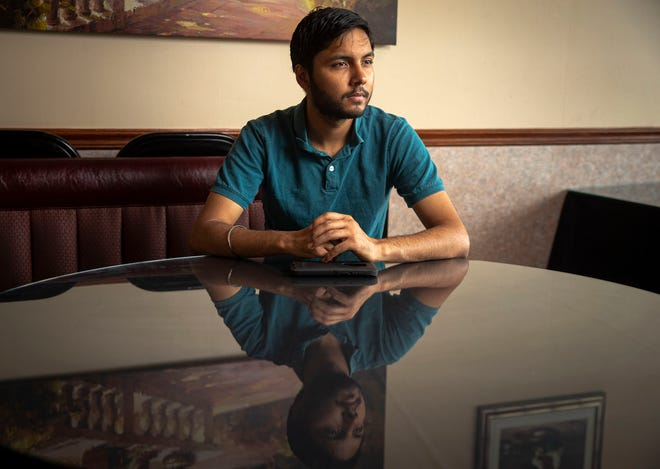 Navee Singh is the co-owner of Toasty-Subs and also helps run his family's restaurant, Flavor of India, and works as a real estate broker having recently obtained his real estate license. [Justin L. Fowler/The State Journal-Register]