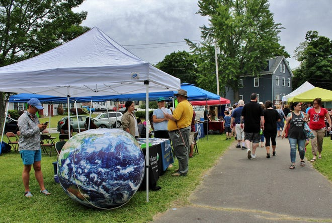 A variety of local vendors, non-profits and other entities set up booths at the 2018 Taunton River Festival.