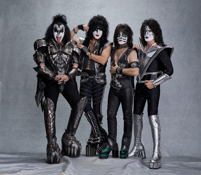 Kiss will make a stop in Mansfield Aug. 18on the band's final tour.