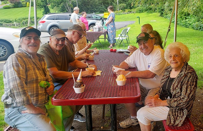 River Terrace recently hosted a senior ice cream social at Rota Spring Farm, in Sterling. Many seniors attended to enjoy the ice cream and conversations.