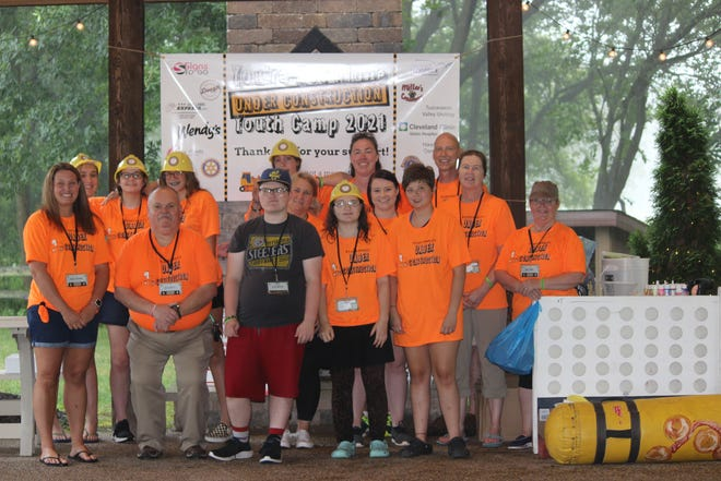 Community Hospice recently held its 12th annualYou'reNot Alone youth camp, which is open to youth experiencing the death of a loved one,July 28-30.