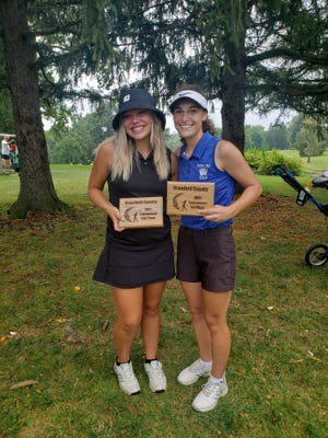 It was another 1-2 finish for Wynford's Jordyn Alspach and Colonel Crawford's Lucy Myers at the Crawford County Tournament.