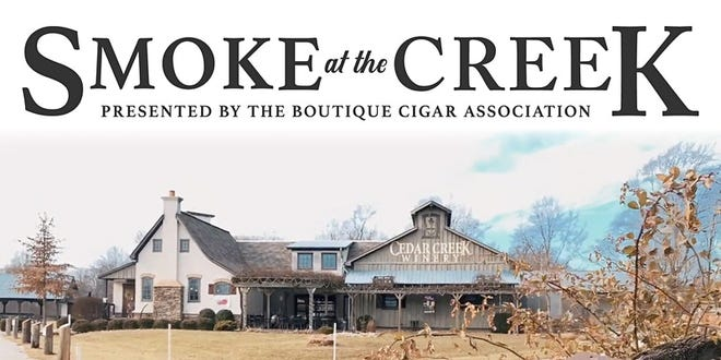 Smoke at the Creek will take place Friday and Saturday at the Cedar Creek Winery & Brew Co. in Martinsville.