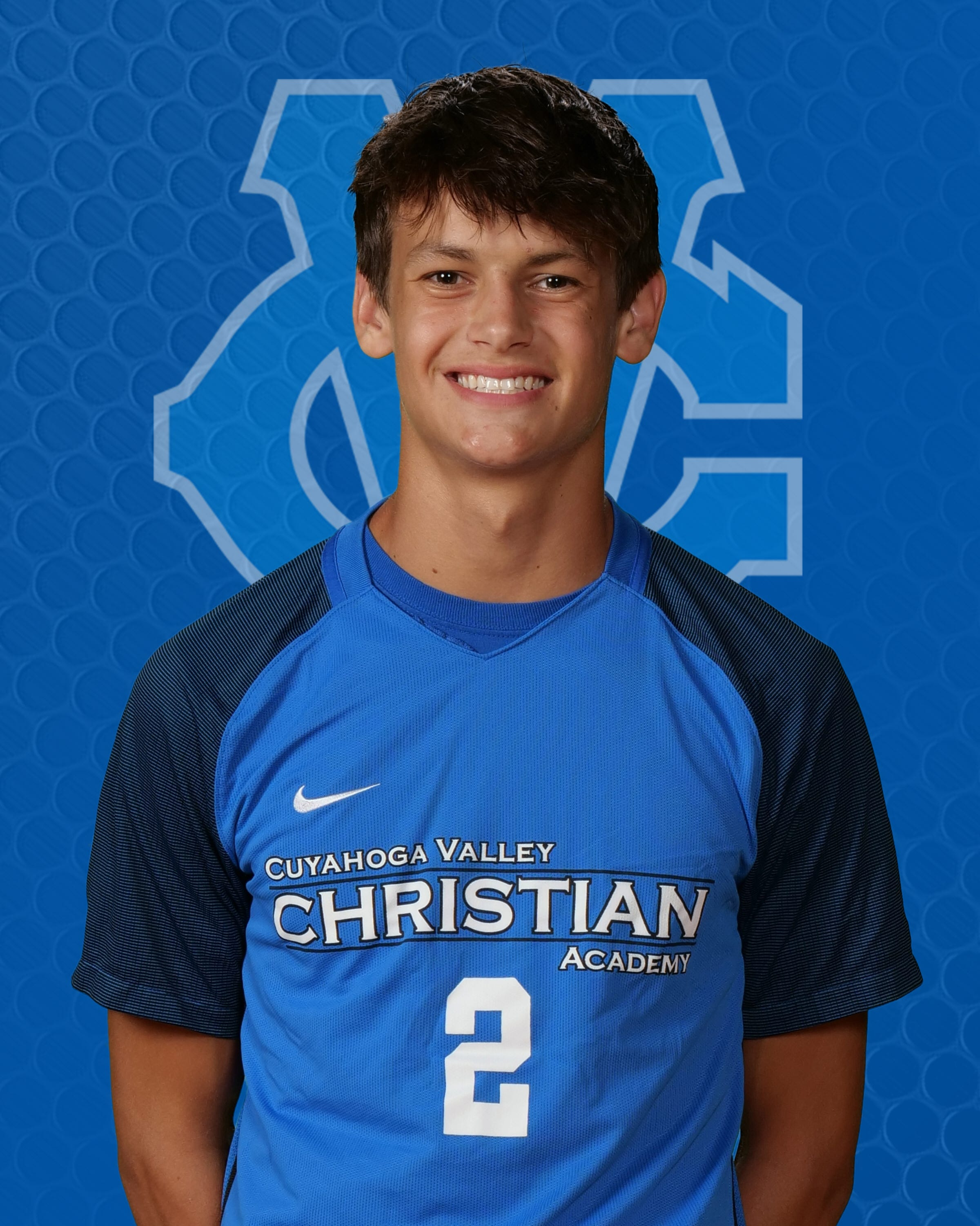 Cuyahoga Valley Christian Academy's Aidan Eck was a first-team All-Ohio selection in Division II last season after scoring 13 goals and posting four assists.