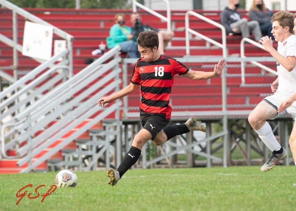 Milton-Union's Mason Grudich was second-team All-Ohio and the co-player of the year in the Southwestern Buckeye League's Buckeye Division in 2020. He was tied for the league lead in goals with 28.