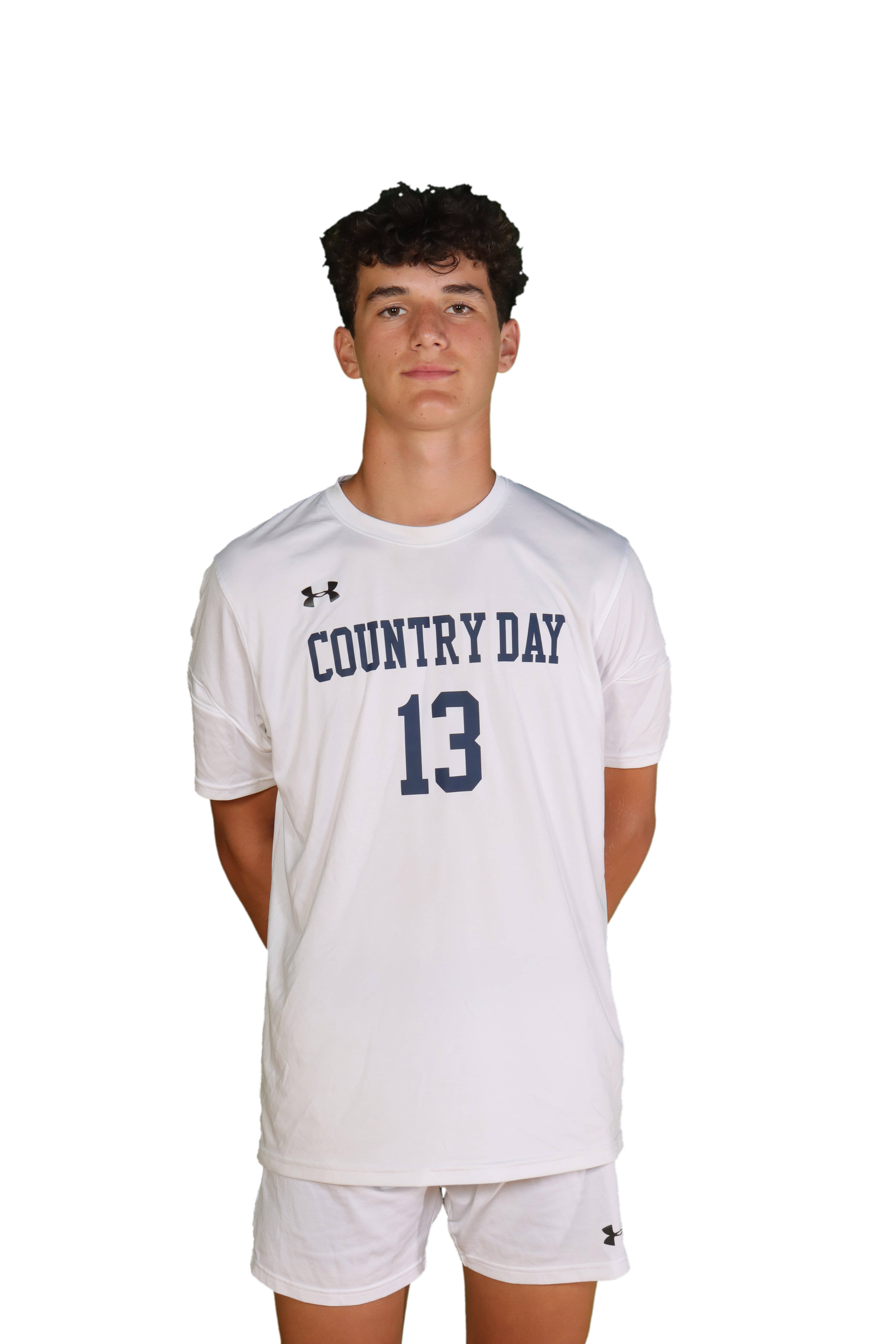 Cincinnati Country Day's Trey Vredeveld was a second-team All-Ohio selection in 2020. He scored six times and had two assists in seven games.