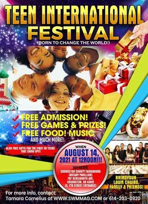 Teen International Festival poster