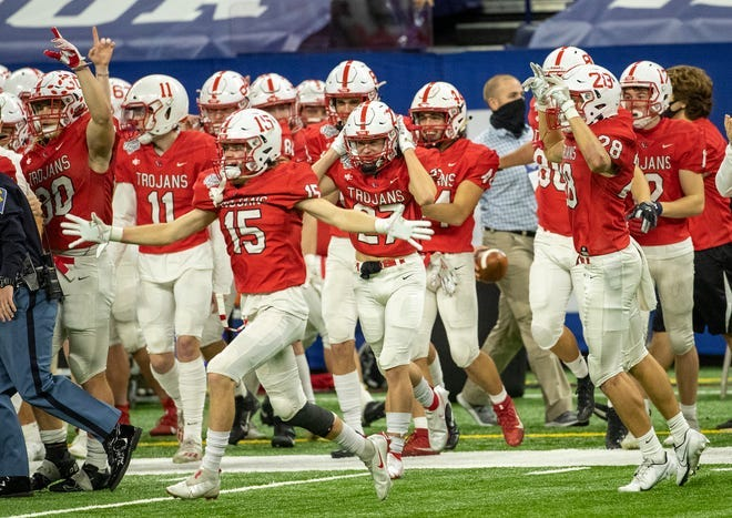 Defending Class 6A state champion Center Grove will scrimmage against Avon on Friday.