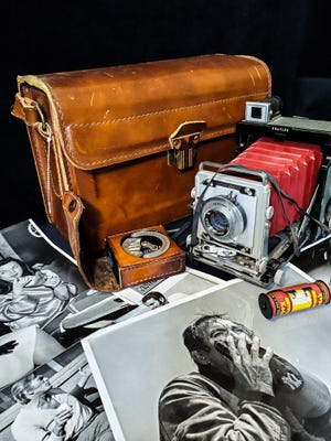 Medium-format cameras such as this date to the 1920s and were capable of taking excellent photographs.