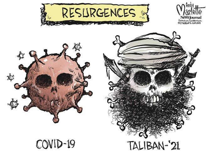Marlette cartoon: Deadly resurgence