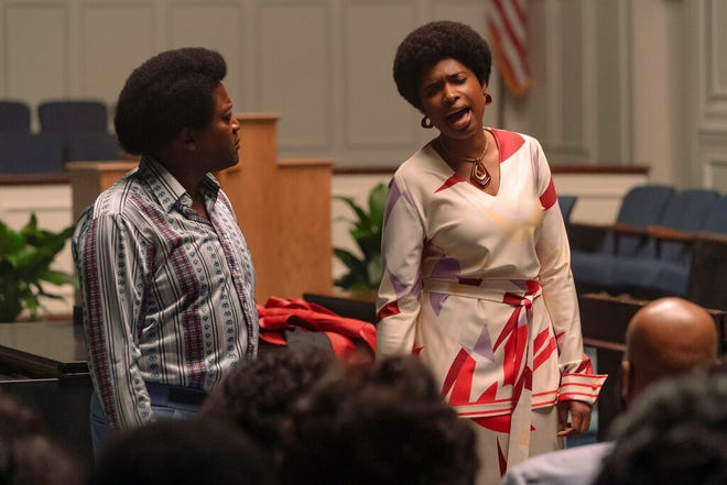"""Jennifer Hudson stars as Aretha Franklin in """"Respect."""" The movie opens Friday at Regal West Manchester, Queensgate Movies 13 and Hanover Movies 16."""