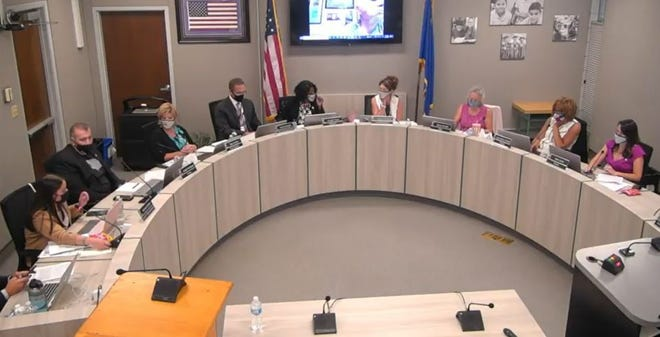 Masks continued to be a debate at the first WCSD board meeting of a new school year.