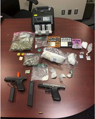 A multi-agency narcotics investigation has resulted in the arrests of three men in Staunton and Waynesboro on multiple firearms and drug charges.
