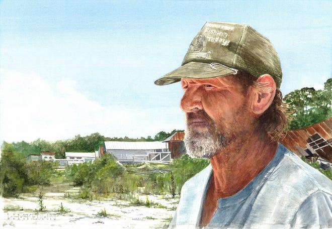 Uncertain Seasons by William McKeown is part of the 2021 Brush Strokes exhibit.