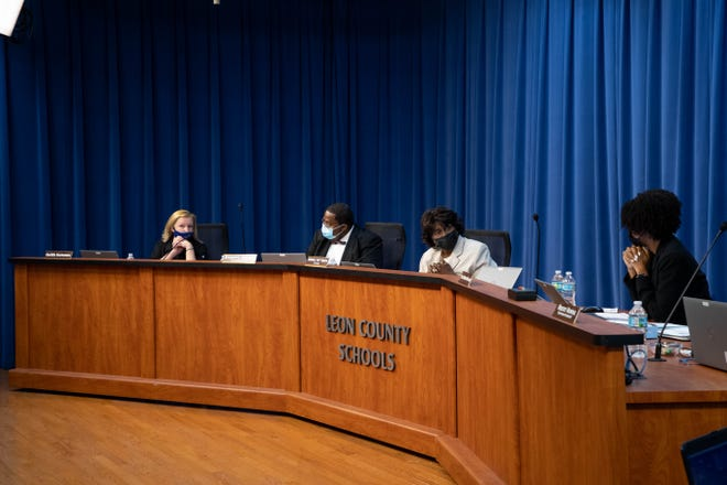 The Leon County School Board meets Tuesday, August 10, 2021.