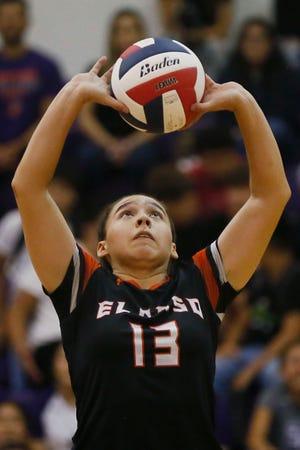 El Paso High's Natalia Martinez during the game against Eastlake in the season opener Tuesday, Aug. 10, 2021, at Eastlake High School in El Paso.