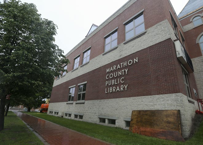 The Marathon County Public Library headquarters in Wausau. Director Ralph Illick resigned amid allegations of fostering a hostile work environment.