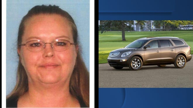 Jane Milota, 53, has been missing since Monday morning.