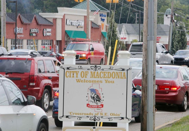 Macedonia was the fastest-growing city in Summit County over the past decade with an 8.8% population growth from 2010 to 2020, according to U.S. Census data released Thursday. This is the intersection of state Routes 8 and 82 in Macedonia.