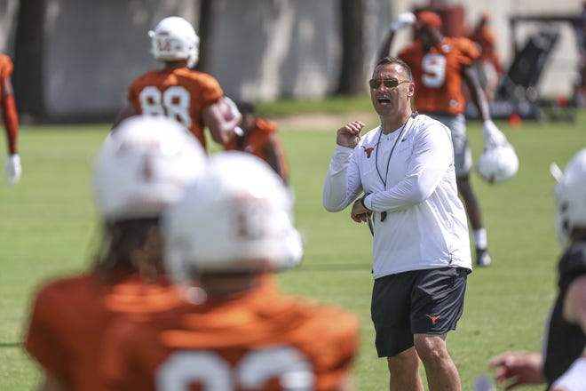 Texas coach Steve Sarkisian has already secured three defensive linemen's pledges for the Longhorns' 2022 recruiting class, including Galena Park North Shore's Kristopher Ross, a four-star prospect.