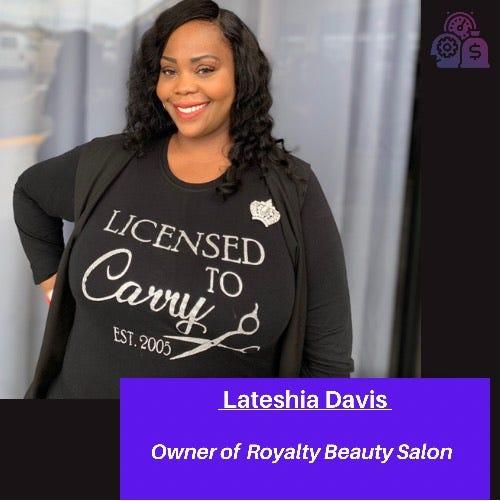 Lateshia Davis is this week's featured entrepreneur for Micro Extraordinary.