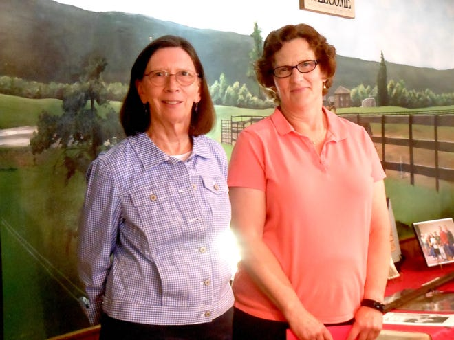 Joan Mitchell, of Middlesex, and Margaret Long, of Penn Yan, were recently inducted as new members of the Gu-Ya-No-Ga Chapter of the Daughters of the American Revolution.