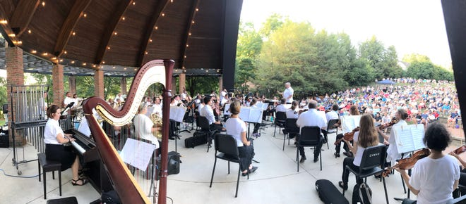 """The Westerville Symphony performs a """"Sounds of Summer"""" concert in 2019."""