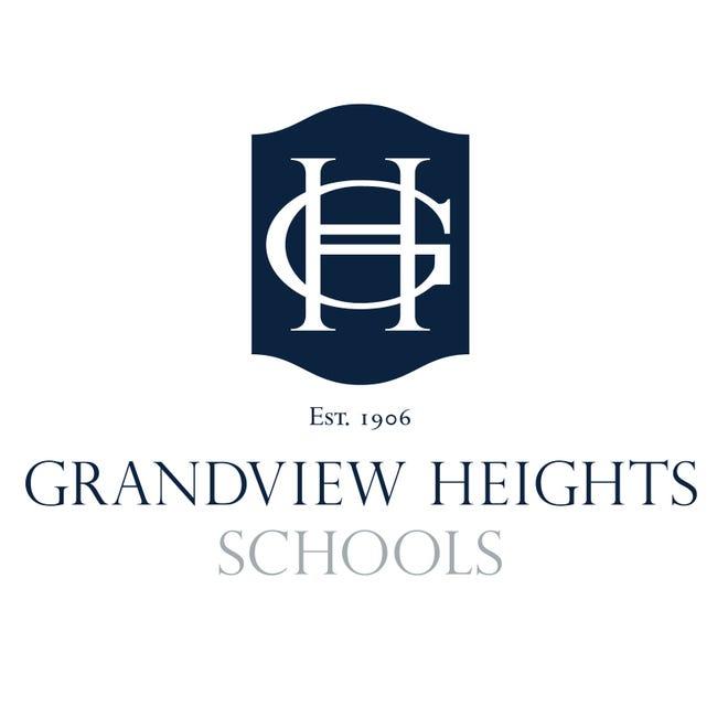 Grandview Heights Schools logo (vertical)