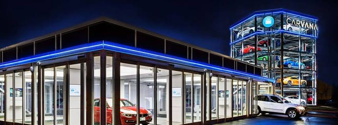 Carvana is investing $126 million in the Columbus insurance company Root.