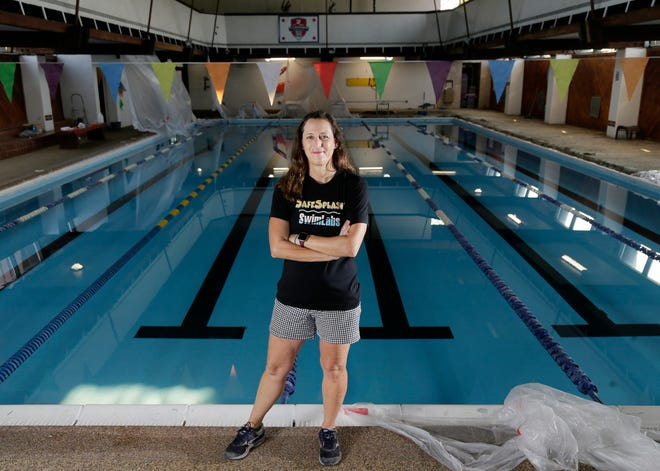 Laurie Karr, a lifelong swimmer and coach, hopes to build and open a new indoor swimming facility in growing Berlin Township in Delaware County which is considered pool-poor.