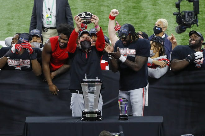 The Buckeyes have won five of nine conference championships since 2012 and are the favorite to win again this year.