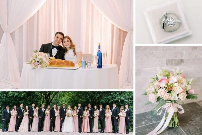 Julie and Yari Garner were married on May 30, 2021