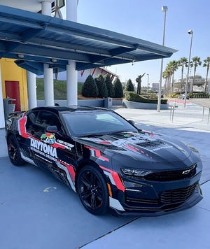 The Coke Zero Sugar 400 pace car will make an appearance at the Full Force Dance Academy studio on Satruday at 1 p.m., ahead of their pre-race show performance on Aug. 28.