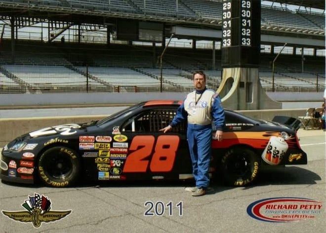 West Burlington's Doak Allen got to take eight laps at Indianapolis Motor Speedway back in 2011. NASCAR's Brickyard 400 is set for Sunday at the same track.