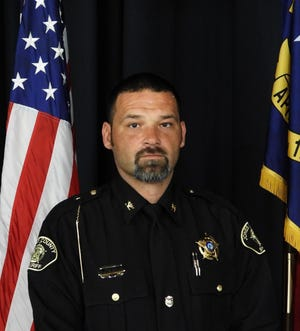 Newly appointed Jones County Sheriff Matthew Wineman
