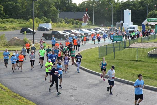 Proceeds from the 13th annual Cubby Chase 10K, 5K and Color Mile Run will help install a toddler playground at the Jim Dooley Center for Early Learning in Geneva.