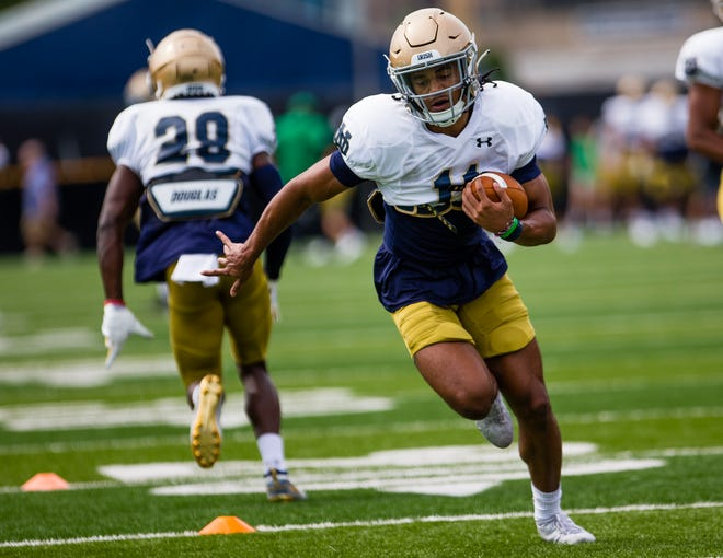 Sophomore cornerback Ramon Henderson has emerged as a player Notre Dame head coach Brian Kelly feels he can trust if needed to play.