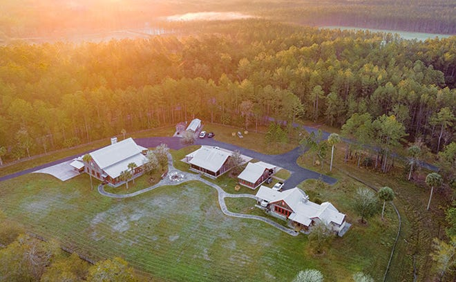 This is a photo of Cow Hammock Ranch, a 2,775-acre ranch on the Ocklawaha River. Formerly owned by Mark Morse, the developer of The Villages, the property was sold for $15 million. [SVN submitted photo]