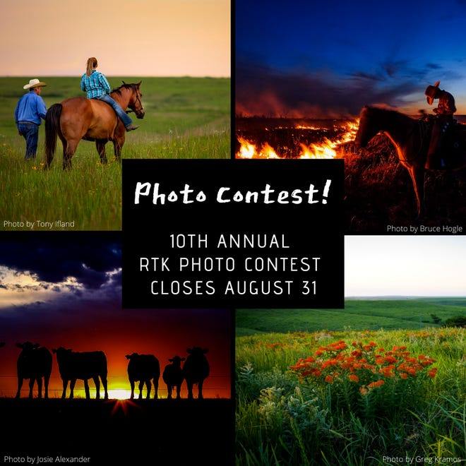 The Ranchland Trust of Kansas photography contest is accepting submissions through Aug. 31.