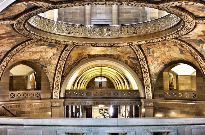 The Missouri Capitol rotunda in Jefferson City. Creative Commons photo courtesy of Onasill