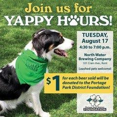 Portage Park District Foundation Yappy Hour Social