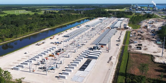 Florida Power & Light is building the world's largest battery in Manatee County to increase the amount of solar energy produced for Florida consumers.