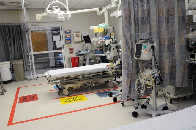 Area hospitals are experiencing overwhelmed emergency departments and critical care units as COVID-19 infections surge once again.