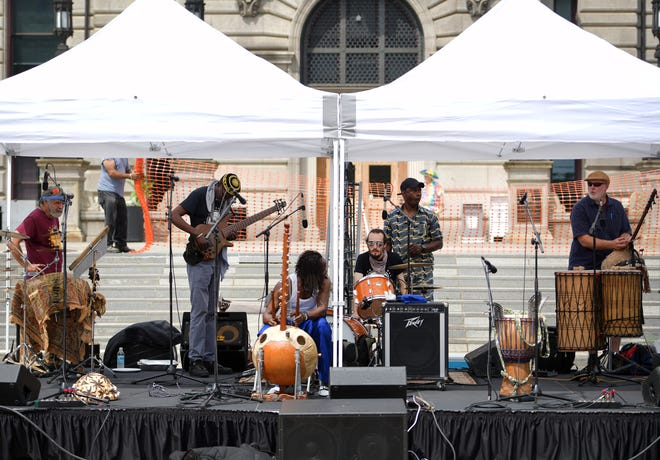 Crocodile River Music headlined the return of the Out to Lunch Festival.