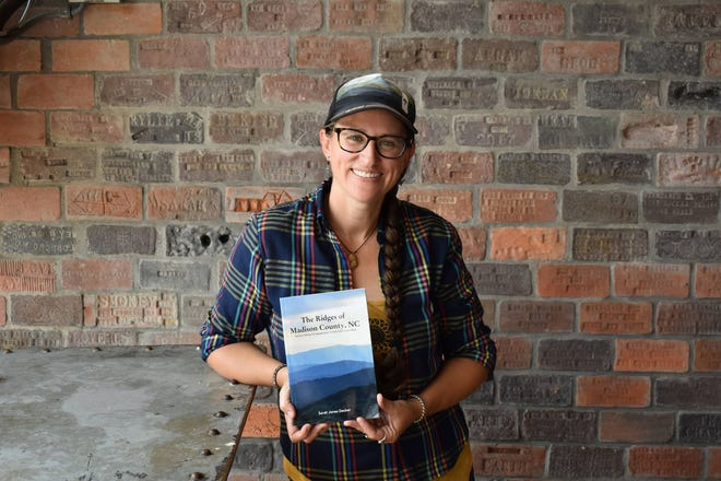 """Sarah Jones Decker will premiere her new book, """"The Ridges of Madison County, N.C."""" at Old Marshall Jail for Third Thursday in Marshall Aug. 19."""