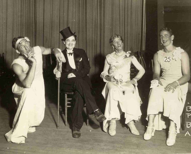 The Black Mountain Fire Department utilized beauty pageants as a means to raise money in the 1930s.